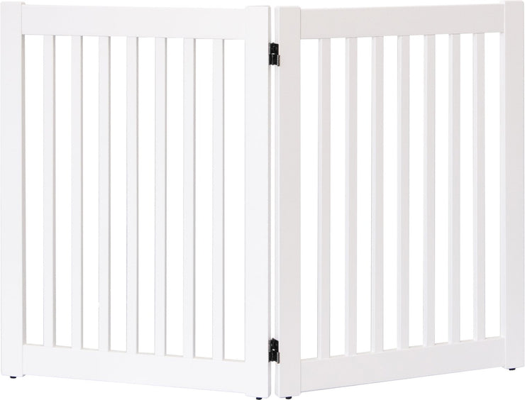 Amish Crafted 2 panel pet gate- White