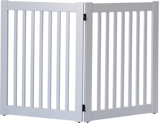 Gray -Amish Crafted 2 panel pet gate