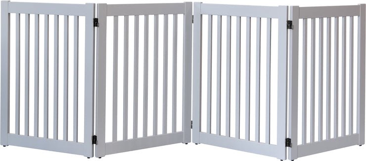 gray - Highlander series 4 panel pet barrier