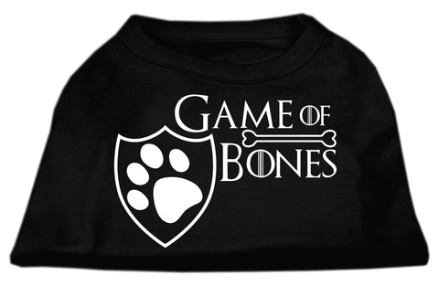 Game of Bones graphic dog tee -Black