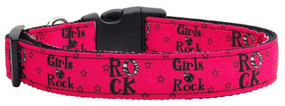 Deep pink collar- Girls Rock