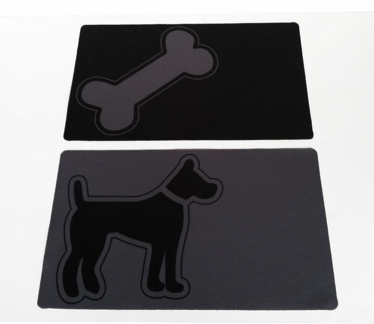 Easy wipe - Bone Placemat and Dog Placemats
