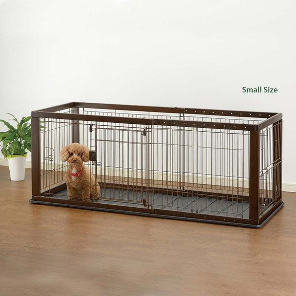 Richell Expandable Pet Crate Small Officialdoghouse