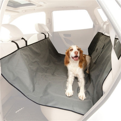 Back Seat Car Pet Hammock gray seat protector