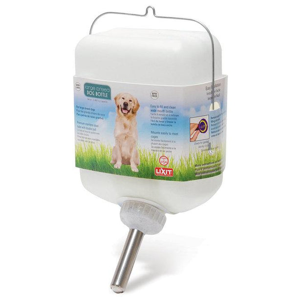 Large 64 ounce (1/2gal) water dispenser for pets