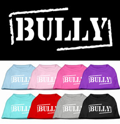 Bull Shirt for bull dogs, pitbulls