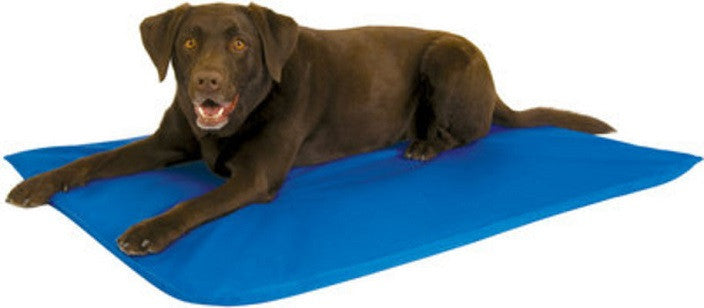Cooling Pet Bed three -blue
