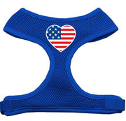 American Flag Mesh Pet Harness