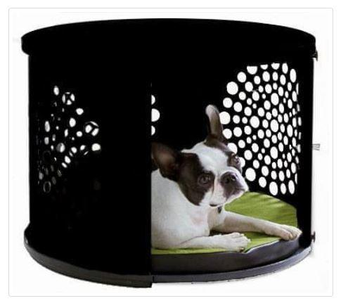 BowHaus Luxury Dog Den/ End Table Black