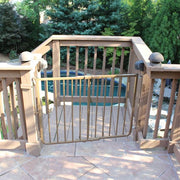 rust free aluminum pet gate