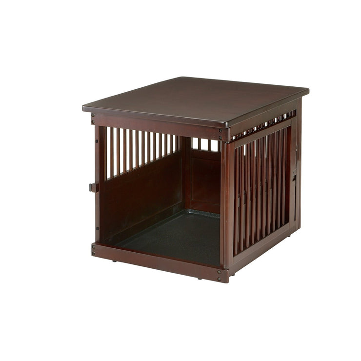 Richell brown Dog Crate
