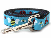 Bumble Bees and Lady Bugs dog leash