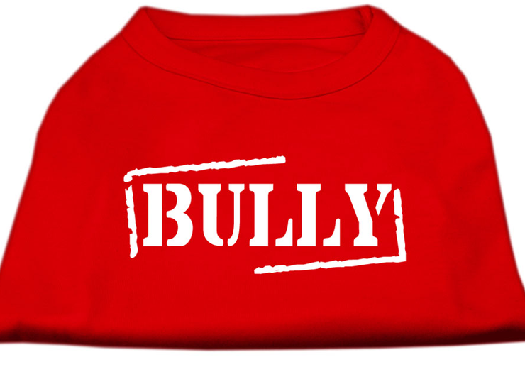 bully dog shirt red