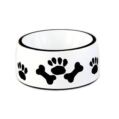 Bones and Paw Pet Food Bowl