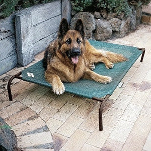 Outdoor cool a roo dog cot