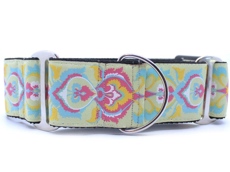 Pastel Candy X Wide Martingale Collar
