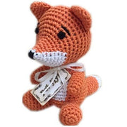 Organic cotton Knit Dg Toy USA made -Fox