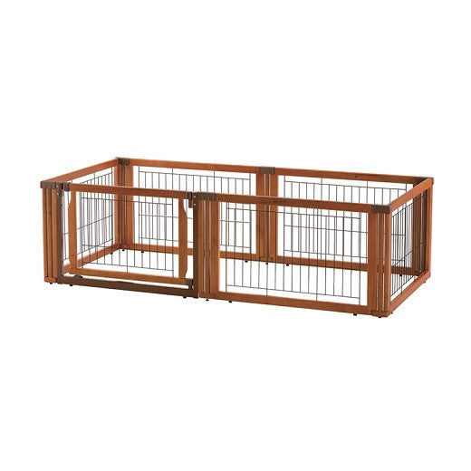 6 panel gate in crate configuration- autumn matte finish