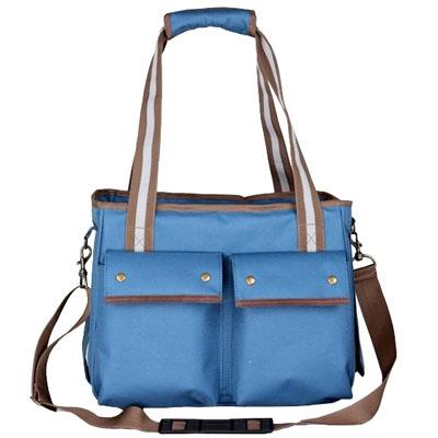 pet carry purse with snap pockets