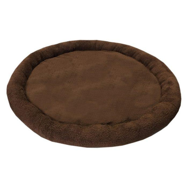 round dog bed for colossal dog house