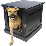 Esspresso dog furniture with door off