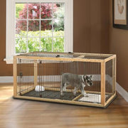 Natural Expandable Pet Pen/Crate