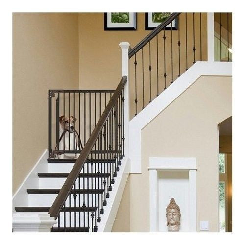 Expandable Wall Mount Stairway Pet Gate Officialdoghouse