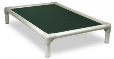 Kuranda PVC Pet Cot -Forest Green