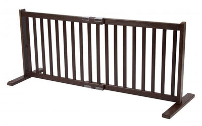 20 inch Tall Pet Gate- Mahogany -Dynamic Accents