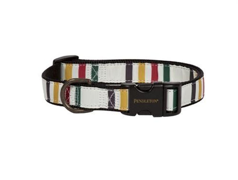 Glacier Park Explorer Leather Collar