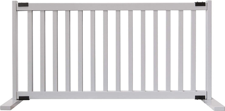 Gray Step over amish crafted wood gate