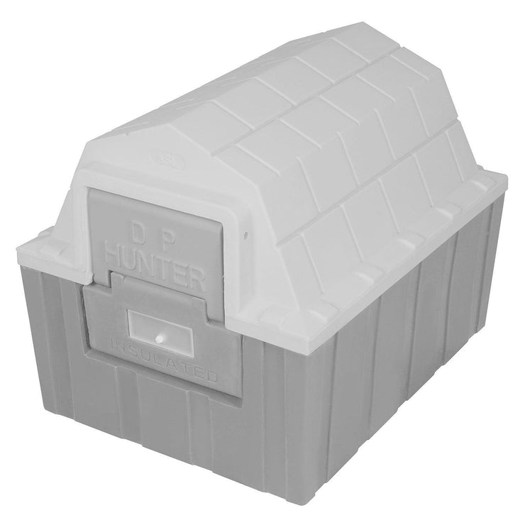 dp hunter dog house -gray