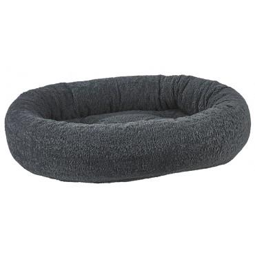 gay sheepskin (faux) bolster dog bed
