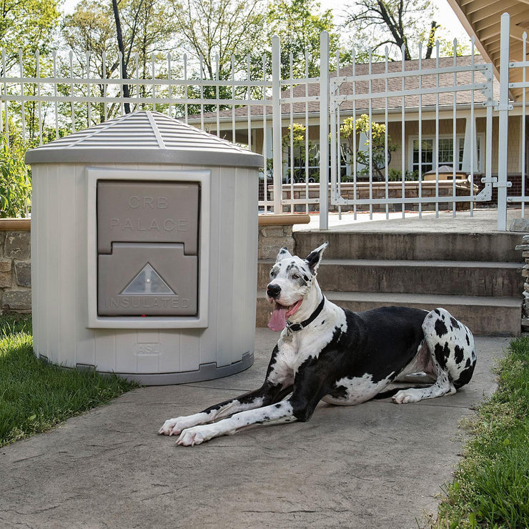 great dane large insulated dog house -ASL