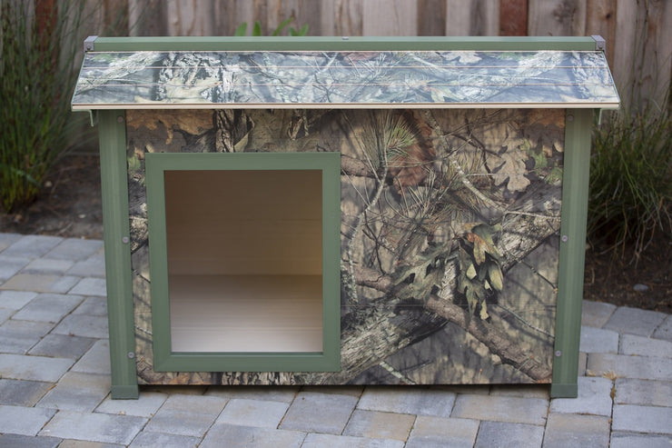 Insulated Mossy Oak Dog House