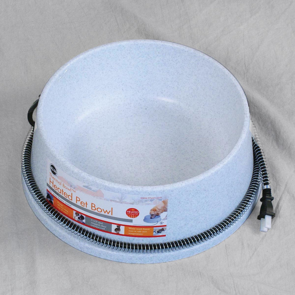 5 quart heated pet water bowl