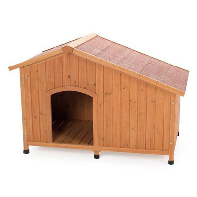 extra large wood shingle dog house