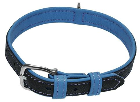 Two Color European Leather Collars