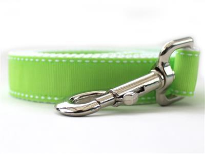 lime green dog lead