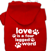 Love large Dog Hoddie-for dogs