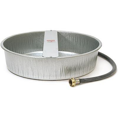 Always Full Galvanized Dog waterer with connection hose
