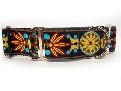 Yellow Star X-Wide Martingale Collar