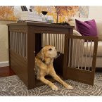 Eco-FLEX furniture dog crate table
