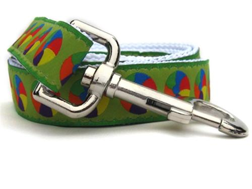 moondoggie dog lead color circles pattern