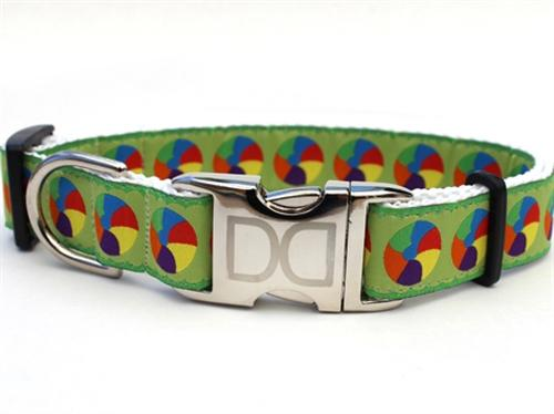 moon doggie aluminum buckle dog collar