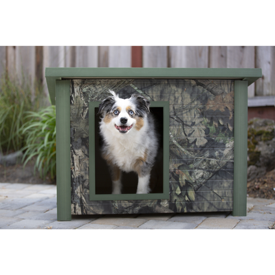 Outdoor Dog House -Mossy Oak