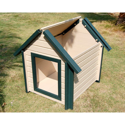 New Age Dog House -Roof Removes for Cleaning