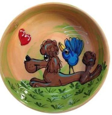 Poodle Artisan Bowls - Personalized