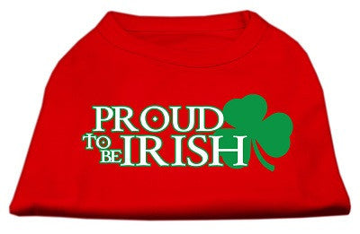 Proud Irish dog shirt