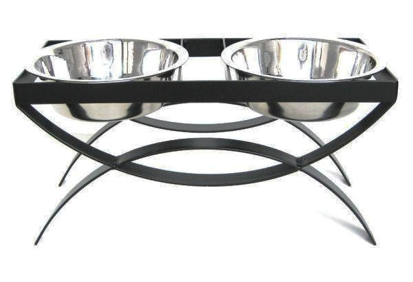 Elevated Dog Feeder- Two Bowls- RDB18